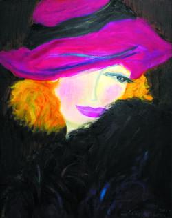 9월. 이혜경 Haekyung Lee,l Drawn from the Heart,30 x 25 inches,Oil on Canvas