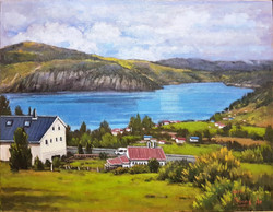 7. Sogne Fjord of Norway(송네피오르, 노르웨이) 53.0x40.9(10호)