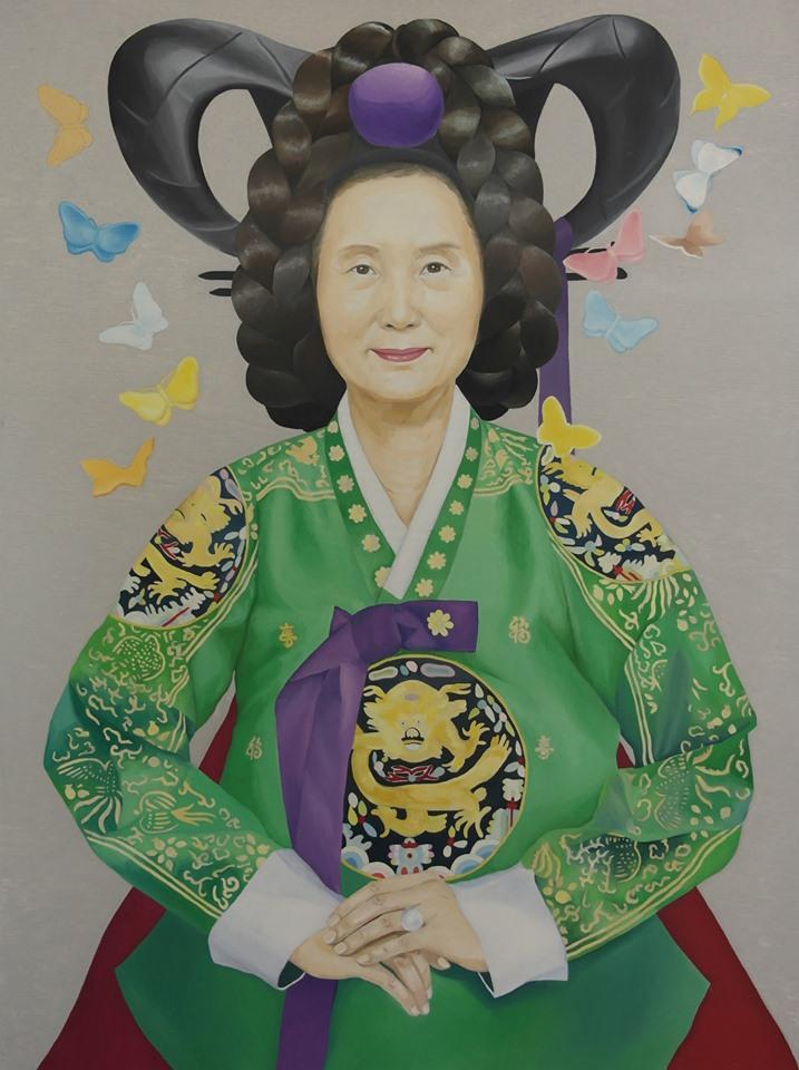 Portrait of Young-za Lee I