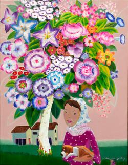 3월.이존립 Lee jonlib.girl,53.0x 41.0, Oil on canvas. 2017