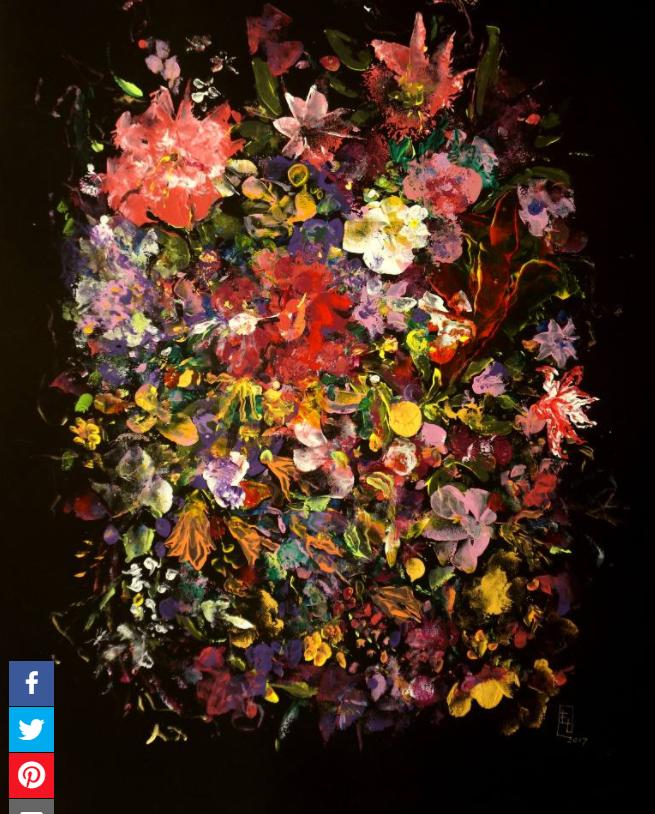 Saatchi Art  Summer Bouquet Painting by Yelena Lezhen