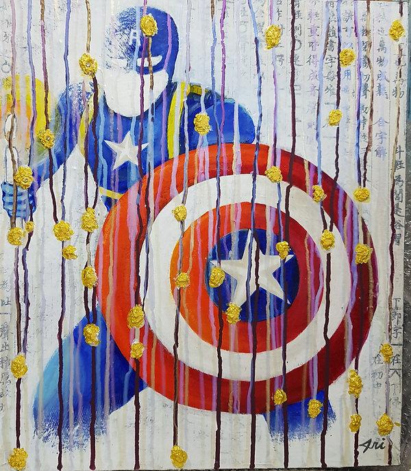 Title-Avengers&Candle light(CaptinAmeric