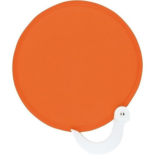 Orange Breezer Fan (Round)