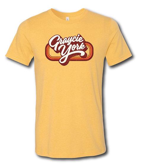 Graycie York Logo T-Shirt Yellow