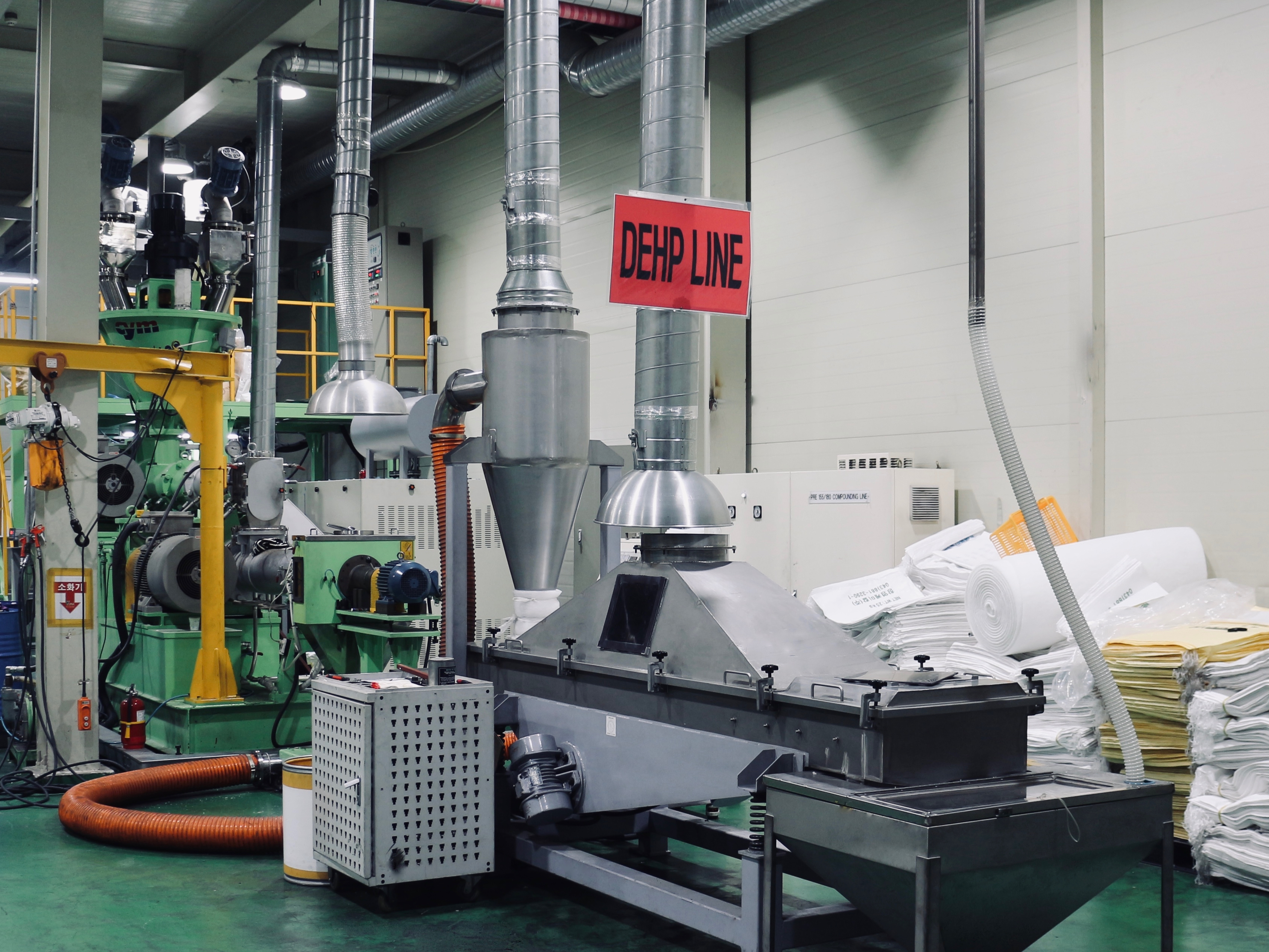 CHANGYOUNG Chemical_Medical Grade PVC(DEHP) Compound Line