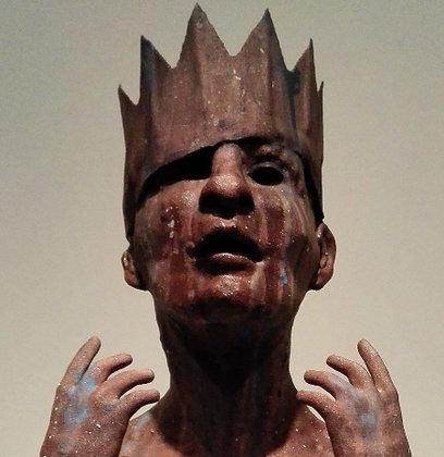 Kroonman - 3D print of brons