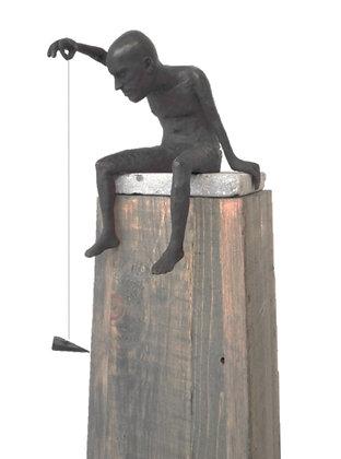 Flyman - brons