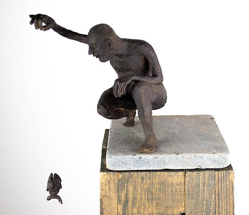 Piranha - brons