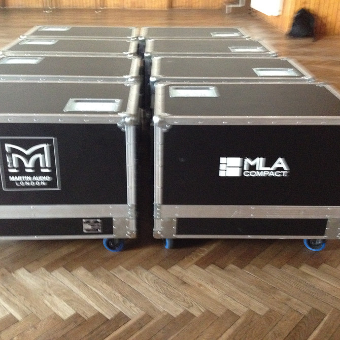 Martin Audio MLA Compact and MLA Mini Training