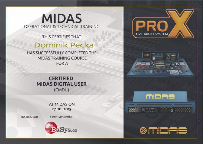 Midas Pro Consoles Training