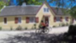 Rented bikes on tour