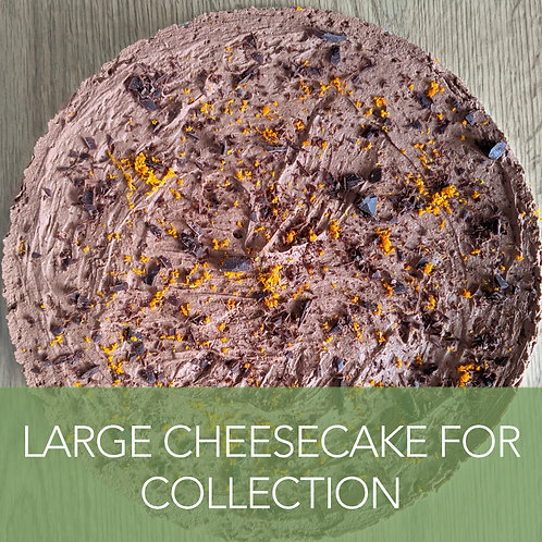 Large Cococheesecake