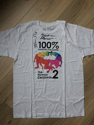 10) The Human Centipede T-Shirt. Signed!