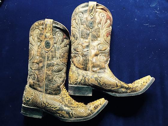 "The original ""Bill Boss"" boots, signed!"