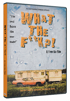 DVD of movie What the f**k?! (signed by Tom Six)