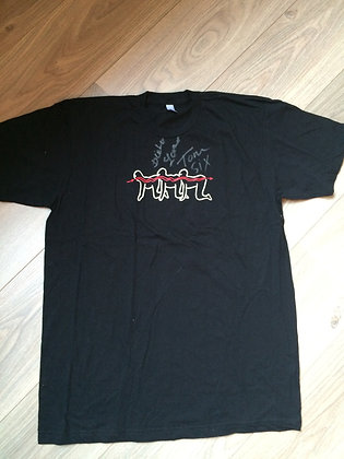 3) The Human Centipede T-Shirt. Signed!