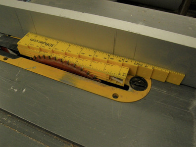 Parallel Rack for Table Saw