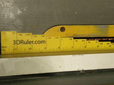 Inner Rip Table Saw Blade