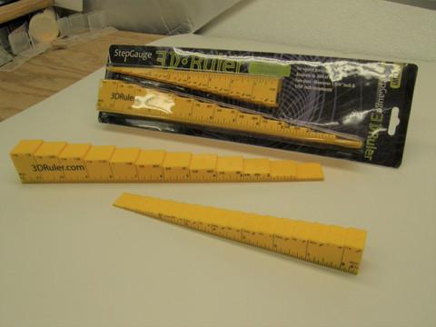 3D Ruler Packaging