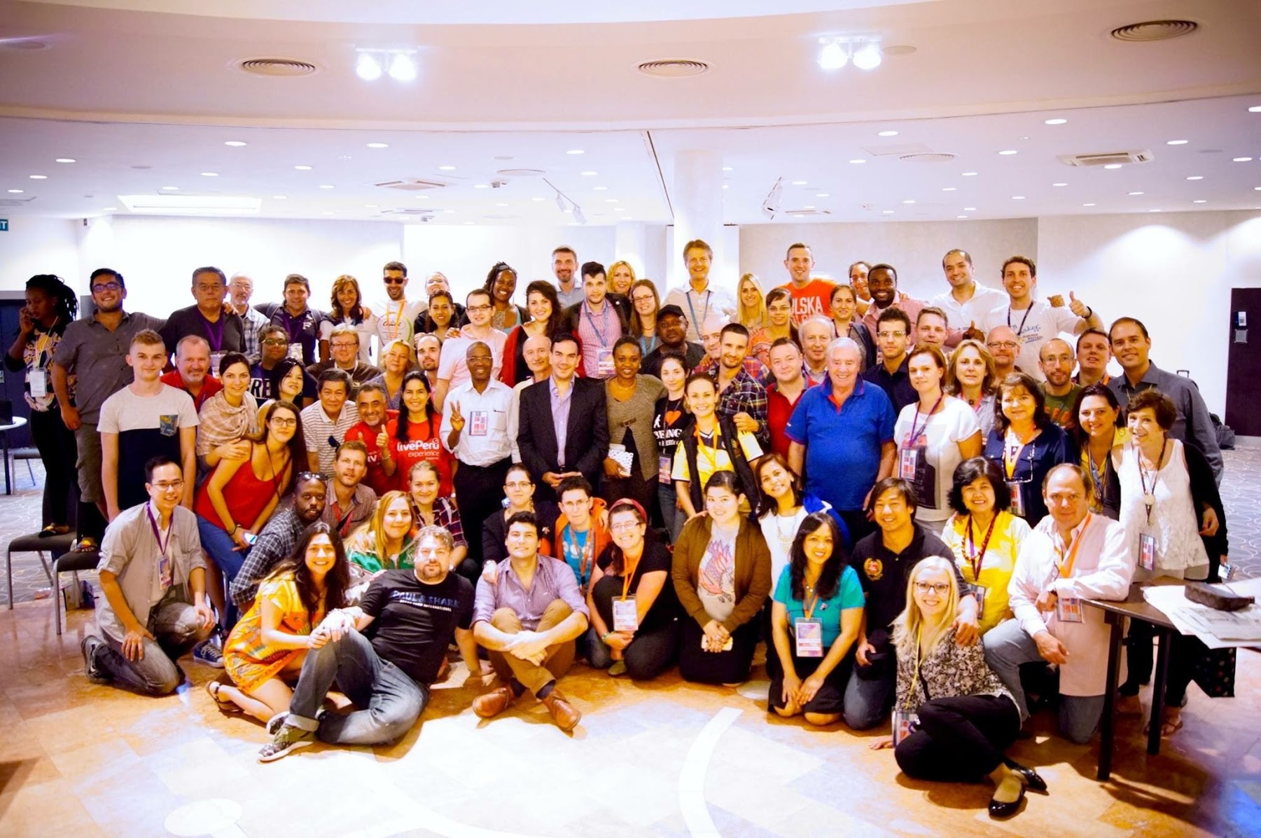 AIESEC alumni on AAIC 2