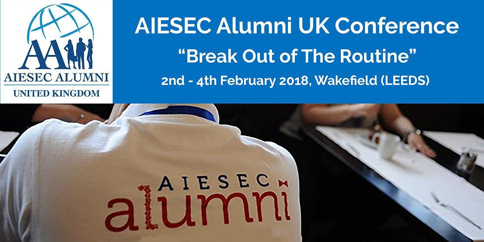 AIESEC Alumni conference participant