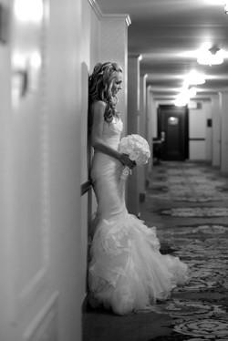 bridal makeup, bridal hair