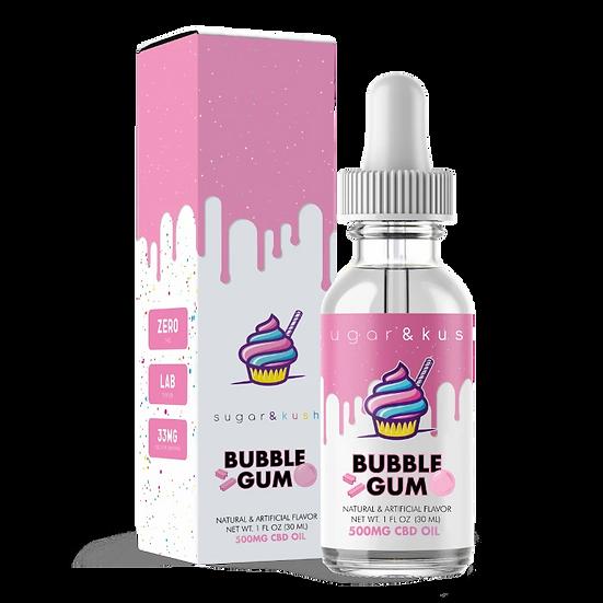 500mg bubble gum flavored cbd oil