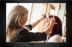 makeup artist, on location makeup
