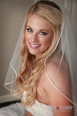 wedding makeup, danielle keefe