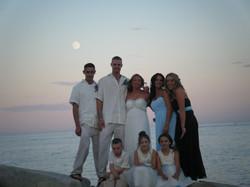 beach wedding, bridal makeup