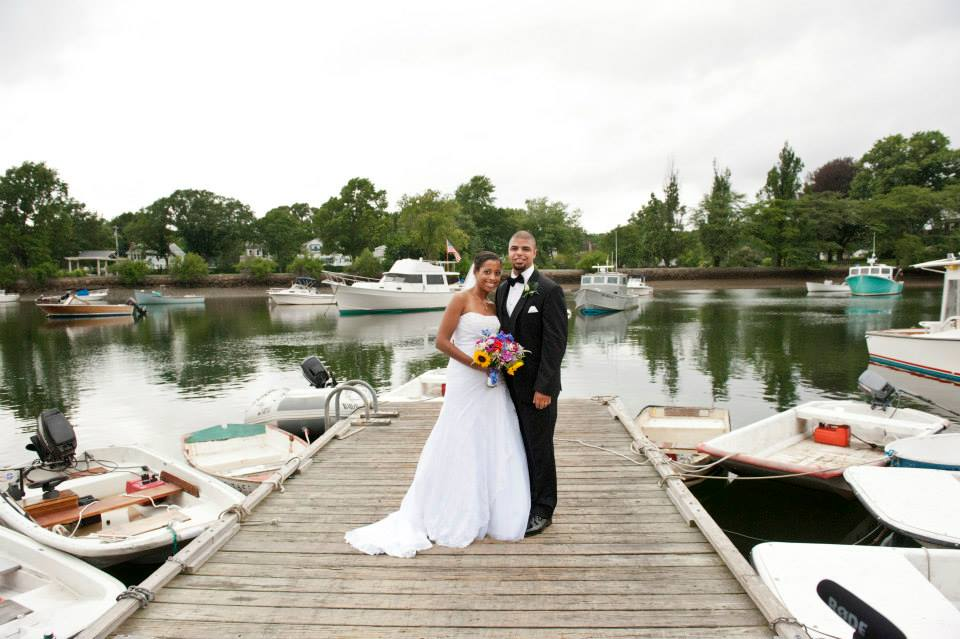 cohasset harbor, wedding makeup