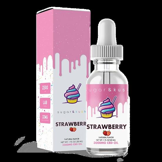 Strawberry CBD Tincture