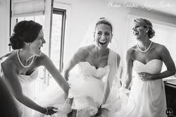 bridal bun, wedding makeup