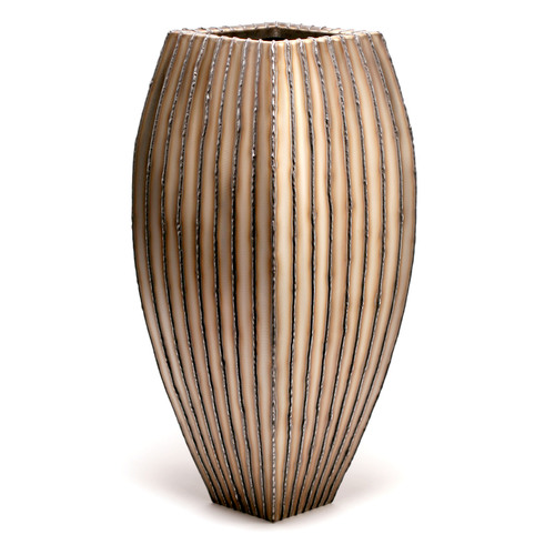 Floor Vase (vertical bead stripe)