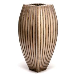 Floor Vase (vertical bead stripe)