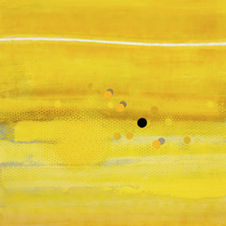 Yellow Field with White Wave