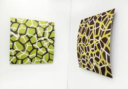 Paintings on Metal - Line Patterns