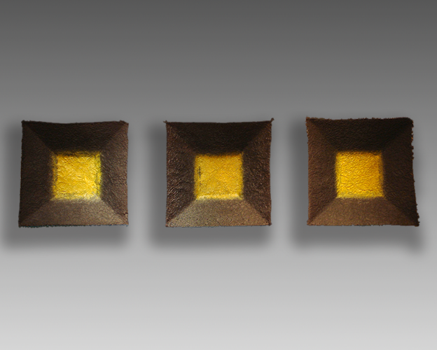 Square Plates (Yellow)