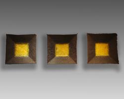 Square Plates (Yellow)