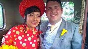 Jon and Sue's wedding