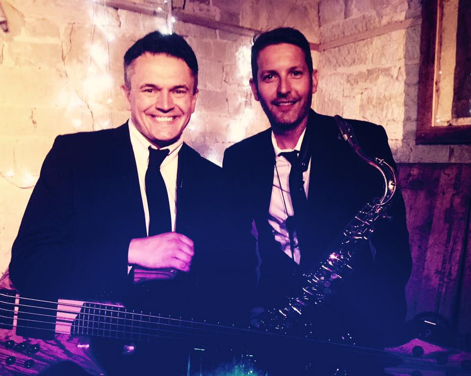 wedding band with sax