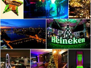 Heineken Christmas Partying!