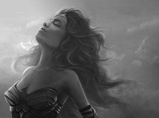 Comics-Wonder-Woman-Black-White-Diana-Pr
