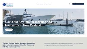 A comm's platform for marina association