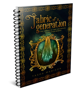 Fabric of a Generation Mockup - Notebook