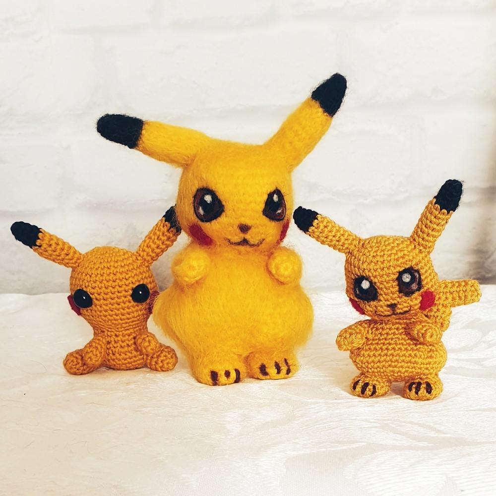 Pokemon Characters Amigurumi - Free Japanese Pattern | Pokemon ... | 1000x1000