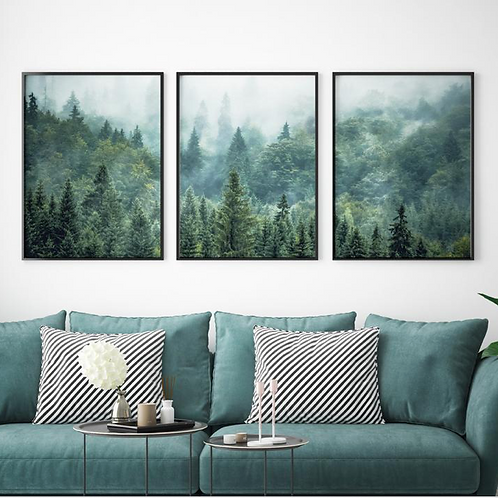 MISTY MOUNTAIN FOREST SET