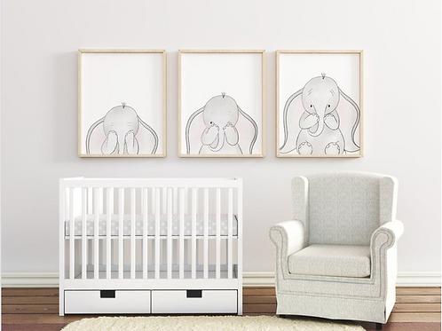 PEAKABOO BABY ELEPHANT SET
