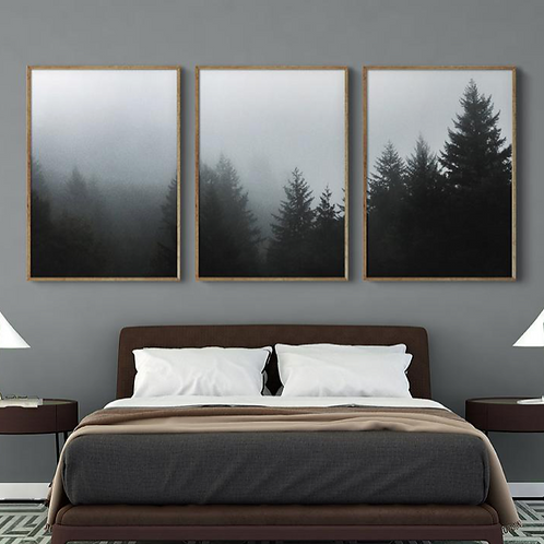 FOGGY PINE FOREST SET