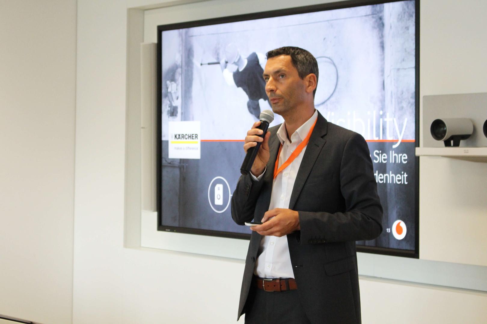 JOACHIM HAUCK   IoT Manager, Vodafone Group